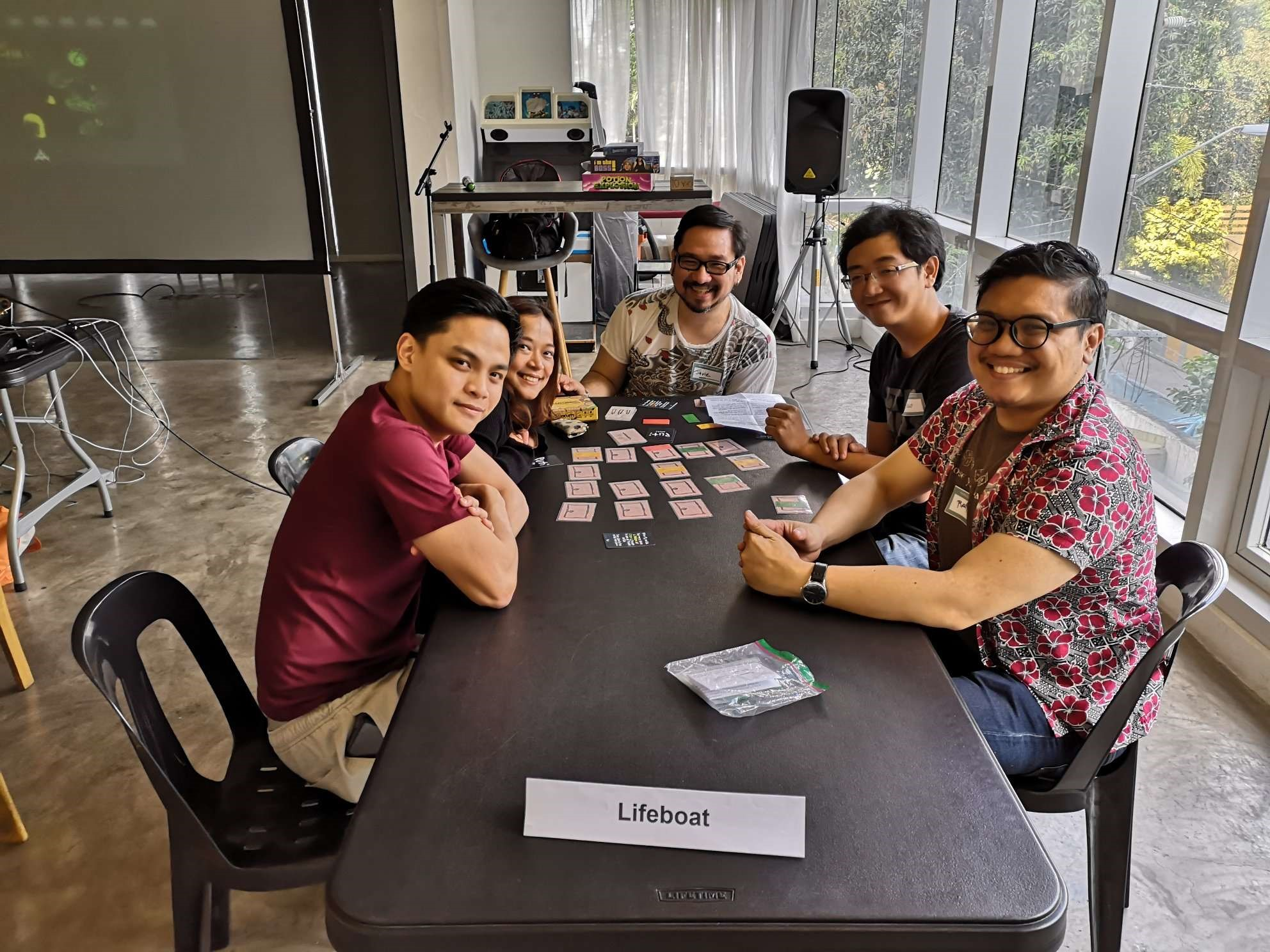"We smiled for the photo, but ""Puti,"" a Filipino-made horror card game, wiped the grin off of our faces soon enough."