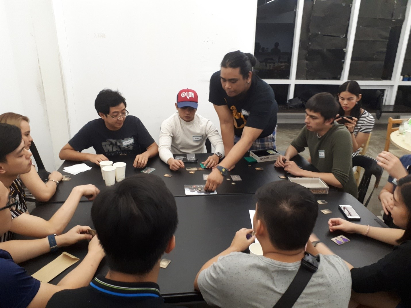 """At Truelogic, we believe that """"all work and no play"""" can put your balance out of whack. So we find time to gather round and play a serious round (or 10) of board games."""